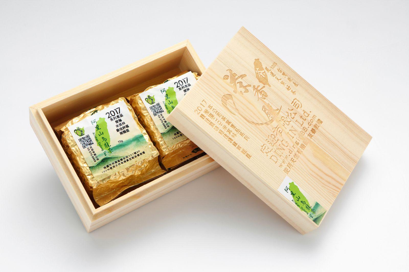 阿里山烏龍茶禮盒